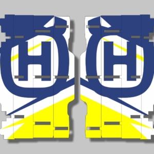 Grafiche MX | Adesivi alette radiatore - HUSQVARNA FC TE FE FE