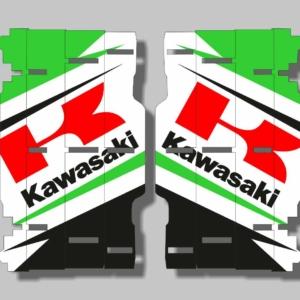 Grafiche MX | Adesivi alette radiatore - KAWASAKI KX KXF