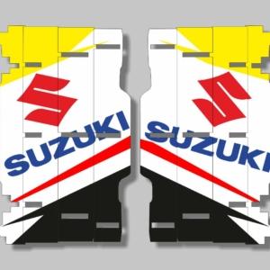 Grafiche MX | Adesivi alette radiatore - SUZUKI RM RMZ