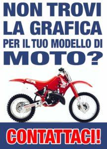Vorresti una grafica personalizzata, unica, per il tuo motocrosso o enduro? Contatta Silvio Print