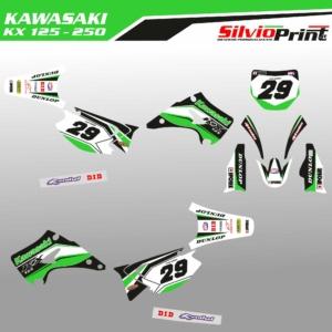 Grafiche MX   Adesivi Motocross   Enduro - KAWASAKI KX RACING