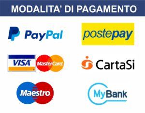 Accettiamo carte di credito  Silvio Print