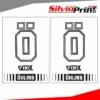 Grafiche Forcella | Adesivi per Forcella Motocross | Enduro - OHLINS - FONDO TRASPARENTE