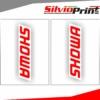 Grafiche Forcella | Adesivi per Forcella Motocross | Enduro - SHOWA - FONDO TRASPARENTE