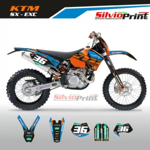 Grafiche MX | Adesivi Motocross | Enduro - KTM SX EXC SX EXCF - LEVEL