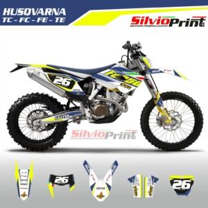 Grafiche MX | Adesivi Motocross | Enduro - HUSQVARNA FE TE TC FC - ITA