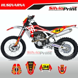 Grafiche MX | Adesivi Motocross | Enduro - HUSQVARNA RED TC TE WR CR