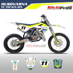 Grafiche MX | Adesivi Motocross | Enduro - HUSQVARNA TC 50 - 65 - 85 - TOP JUNIOR