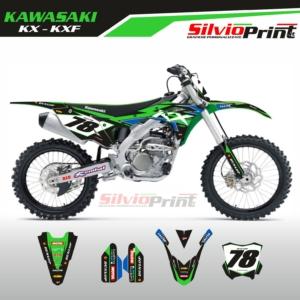 Grafiche MX | Adesivi Motocross | Enduro - KAWASAKI KX KXF - RACE