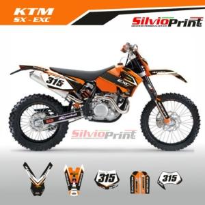 Grafiche MX | Adesivi Motocross | Enduro - KTM SX EXC SX EXCF - FIVE