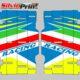Grafiche MX | Adesivi alette radiatore - TM MX EN SM