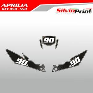Grafiche MX | Adesivi Tabelle Porta Numero Motocross | Enduro - APRILIA RXV - COMP