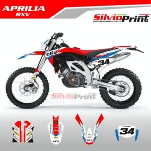 Grafiche MX | Adesivi Motocross | Enduro - APRILIA RXV - PRO