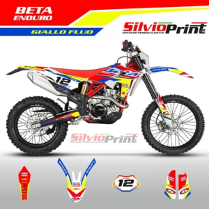 Grafiche MX | Adesivi Motocross | Enduro - BETA ENDURO FLUO