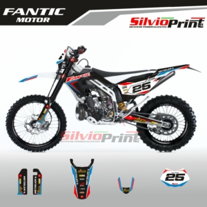 Grafiche MX | Adesivi Motocross | Enduro - FANTIC MOTOR ENDURO - RACE