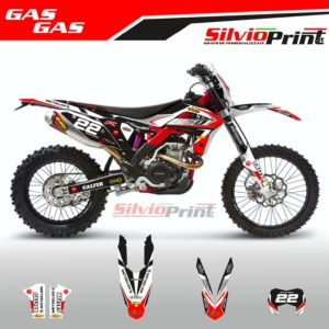 Grafiche MX | Adesivi Motocross | Enduro - GASGAS LINE