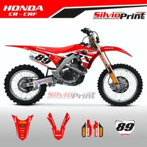 Grafiche MX | Adesivi Motocross | Enduro - HONDA CR CRF - POLE