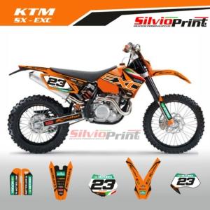 Grafiche MX | Adesivi Motocross | Enduro - KTM SX EXC SX EXCF - BASE