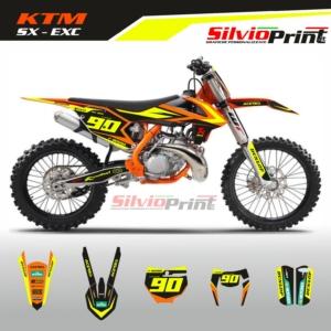 Grafiche MX   Adesivi Motocross   Enduro - KTM SX EXC SX EXCF - IMPACT