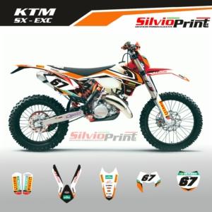 Grafiche MX | Adesivi Motocross | Enduro - KTM SX EXC SX EXCF - READY