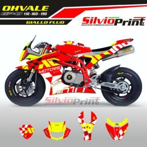Grafiche OHVALE | Adesivi GPO | 110 - 160 - 190 AD MOTORS