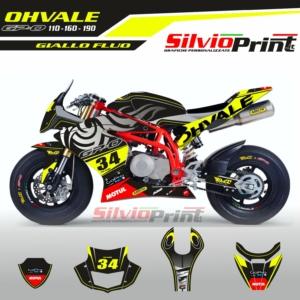 Grafiche OHVALE | Adesivi GPO | 110 - 160 - 190 RACE