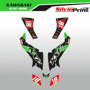 Grafiche Quad | Adesivi Quad - Atv | kawasaki KXF 400