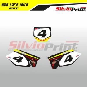 Grafiche MX | Adesivi Tabelle Porta Numero Motocross | Enduro - SUZUKI RMZ PRIME