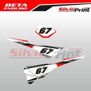 Grafiche MX | Adesivi Tabelle Porta Numero Motocross | Enduro - BETA ENDURO - RACE