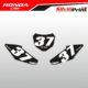 Grafiche MX | Adesivi Tabelle Porta Numero Motocross | Enduro - HONDA BASE