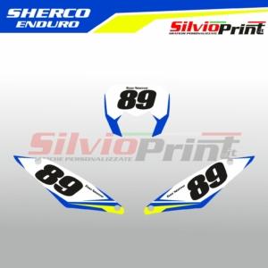 Grafiche MX | Adesivi Tabelle Porta Numero Motocross | Enduro - SHERCO ENDURO PRO