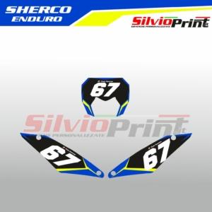 Grafiche MX | Adesivi Tabelle Porta Numero Motocross | Enduro - SHERCO ENDURO STAR