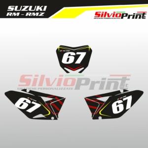Grafiche MX | Adesivi Tabelle Porta Numero Motocross | Enduro - SUZUKI RM - RMZ RACE