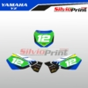 Grafiche MX | Adesivi Tabelle Porta Numero Motocross | Enduro - YAMAHA YZ - STYLE