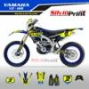 Grafiche MX | Adesivi Motocross | Enduro - YAMAHA YZF WRF - FLUO STYLE