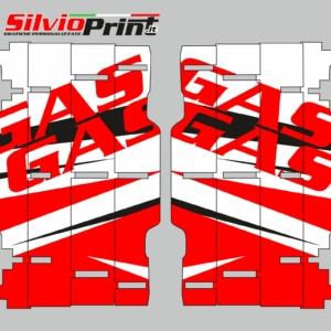 Grafiche MX | Adesivi alette radiatore - GASGAS EC - LINE