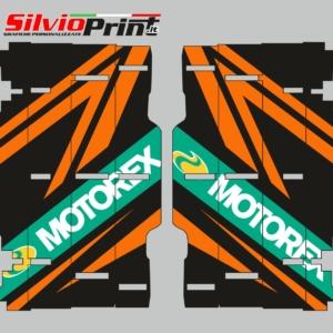 Grafiche MX | Adesivi alette radiatore - KTM SX EXC