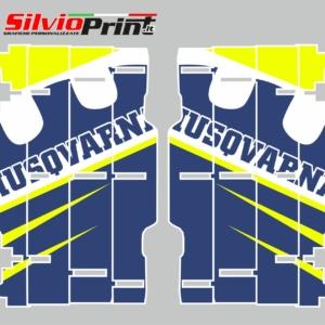 Grafiche MX | Adesivi Alette Radiatori per Motocross - ENDURO - HUSQVARNA FC FE TC TE - RACE