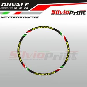 Grafiche OHVALE | Adesivi Cerchi per Ohvale GPO - RACING