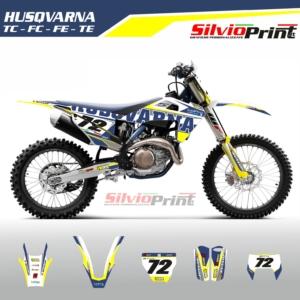 Grafiche MX | Adesivi Motocross | Enduro - HUSQVARNA FE TE FC TC - RIDE