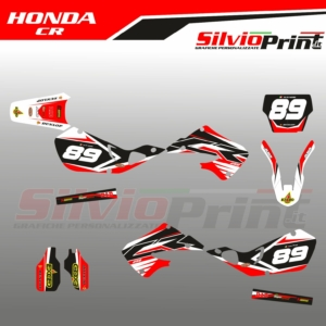 Grafiche MX | Adesivi per Motocross - HONDA CR - BACK