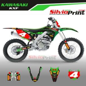 Grafiche MX | Adesivi Motocross - KAWASAKI KXF - FOUR