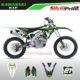 Grafiche MX | Adesivi Motocross - KAWASAKI KXF - WIND
