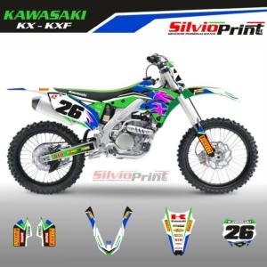 Grafiche MX | Adesivi Motocross - KAWASAKI KXF - STYLE