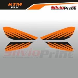 Grafiche MX   Adesivi Paramani Enduro - KTM SX SXF EXC EXCF - FLY