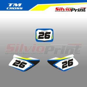 Grafiche Motocross | Adesivi Tabelle Porta Numero Motocross - TM - COMP