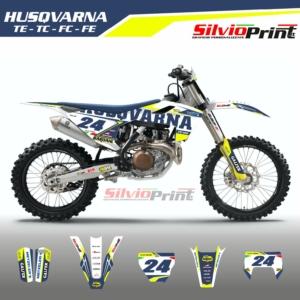 Grafiche MX | Adesivi Motocross - HUSQVARNA FE FC TC TE - DRIVE