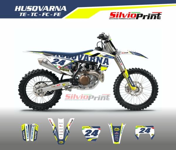 Grafiche MX   Adesivi Motocross - HUSQVARNA FE FC TC TE - DRIVE