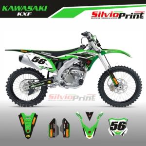 Grafiche MX   Adesivi Motocross - KAWASAKI KXF - SPORT