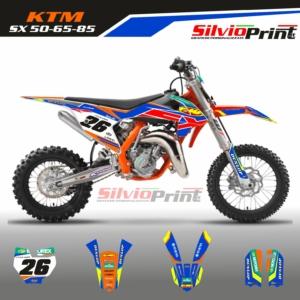 Grafiche MX | Adesivi Motocross - KTM SX - COLOR